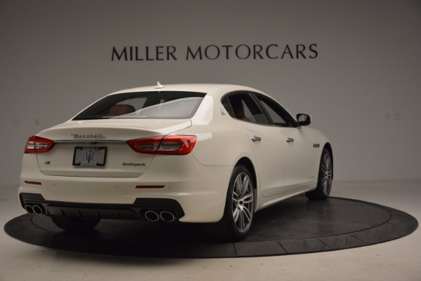 New 2017 Maserati Quattroporte S Q4 GranSport for sale Sold at Bentley Greenwich in Greenwich CT 06830 7