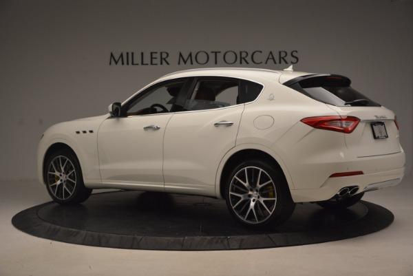 New 2017 Maserati Levante S Q4 for sale Sold at Bentley Greenwich in Greenwich CT 06830 4