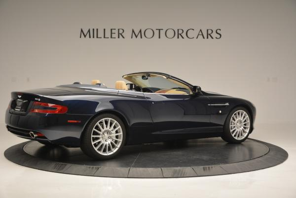Used 2007 Aston Martin DB9 Volante for sale Sold at Bentley Greenwich in Greenwich CT 06830 8