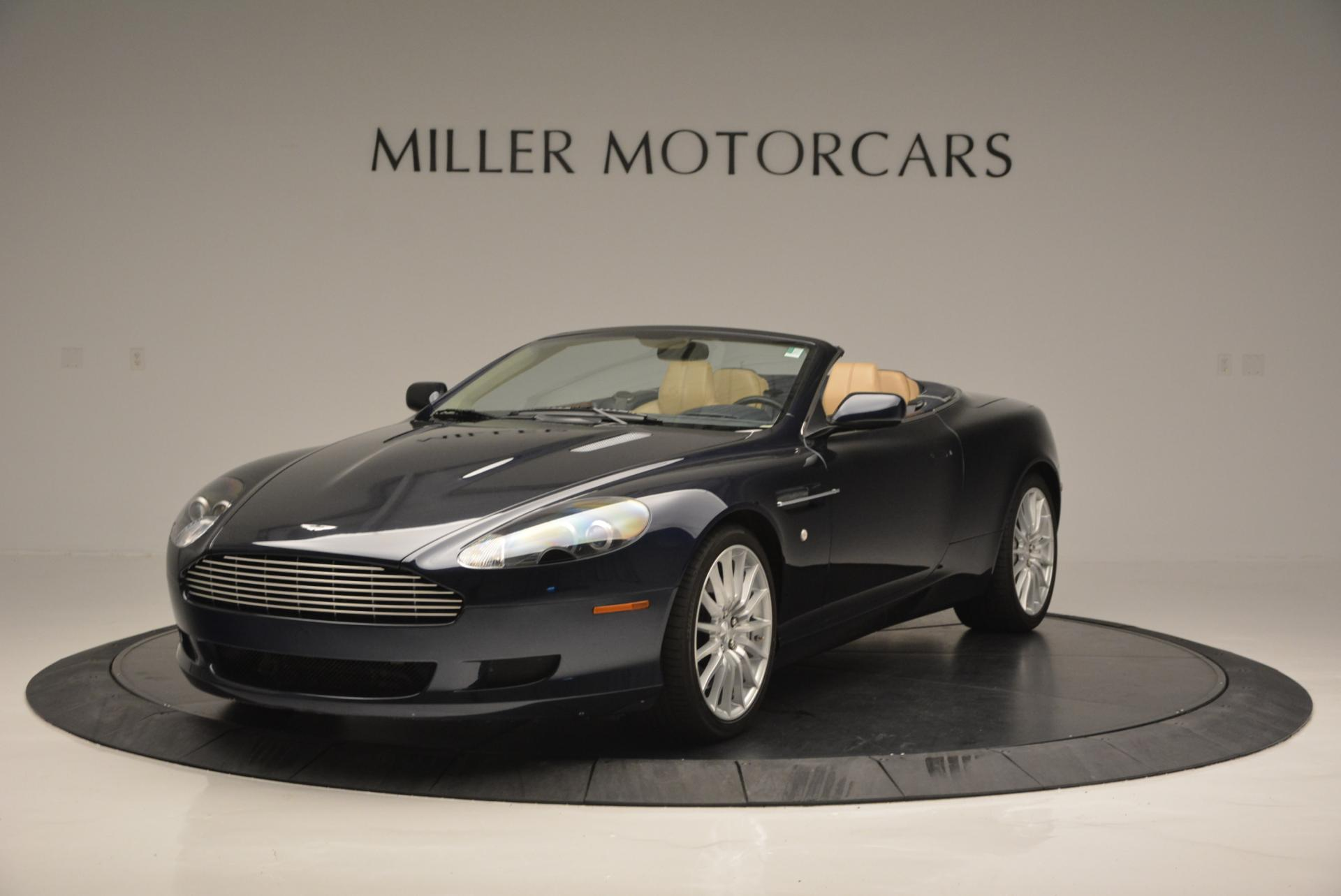 Used 2007 Aston Martin DB9 Volante for sale Sold at Bentley Greenwich in Greenwich CT 06830 1