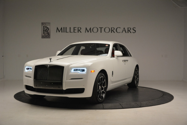 New 2017 Rolls-Royce Ghost Black Badge for sale Sold at Bentley Greenwich in Greenwich CT 06830 1