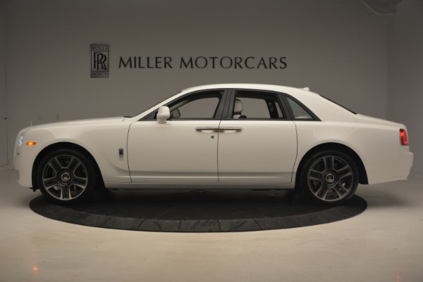 Used 2017 Rolls-Royce Ghost for sale Sold at Bentley Greenwich in Greenwich CT 06830 3