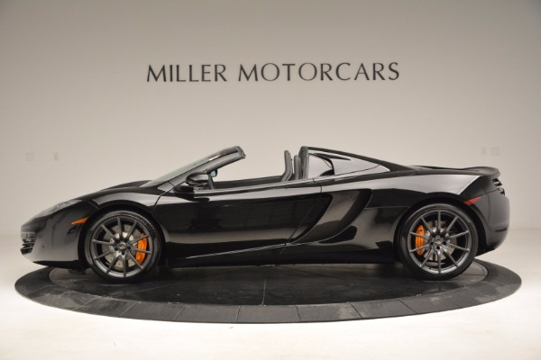 Used 2013 McLaren 12C Spider for sale Sold at Bentley Greenwich in Greenwich CT 06830 3