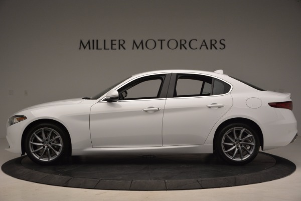 New 2017 Alfa Romeo Giulia Q4 for sale Sold at Bentley Greenwich in Greenwich CT 06830 3