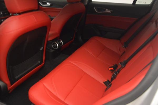 New 2017 Alfa Romeo Giulia Q4 for sale Sold at Bentley Greenwich in Greenwich CT 06830 16