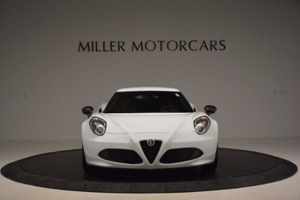 New 2016 Alfa Romeo 4C Coupe for sale Sold at Bentley Greenwich in Greenwich CT 06830 12