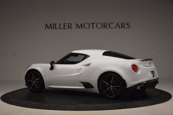 New 2016 Alfa Romeo 4C Coupe for sale Sold at Bentley Greenwich in Greenwich CT 06830 4