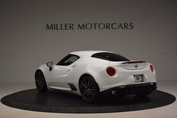 New 2016 Alfa Romeo 4C Coupe for sale Sold at Bentley Greenwich in Greenwich CT 06830 5
