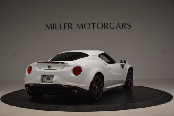 New 2016 Alfa Romeo 4C Coupe for sale Sold at Bentley Greenwich in Greenwich CT 06830 7