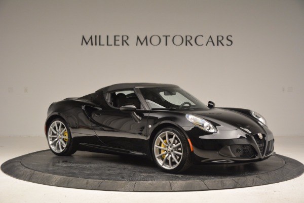 New 2016 Alfa Romeo 4C Spider for sale Sold at Bentley Greenwich in Greenwich CT 06830 22
