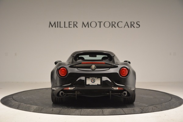 New 2016 Alfa Romeo 4C Spider for sale Sold at Bentley Greenwich in Greenwich CT 06830 6
