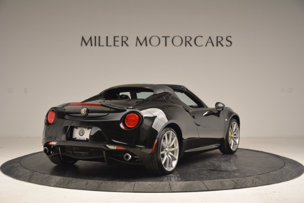 New 2016 Alfa Romeo 4C Spider for sale Sold at Bentley Greenwich in Greenwich CT 06830 7