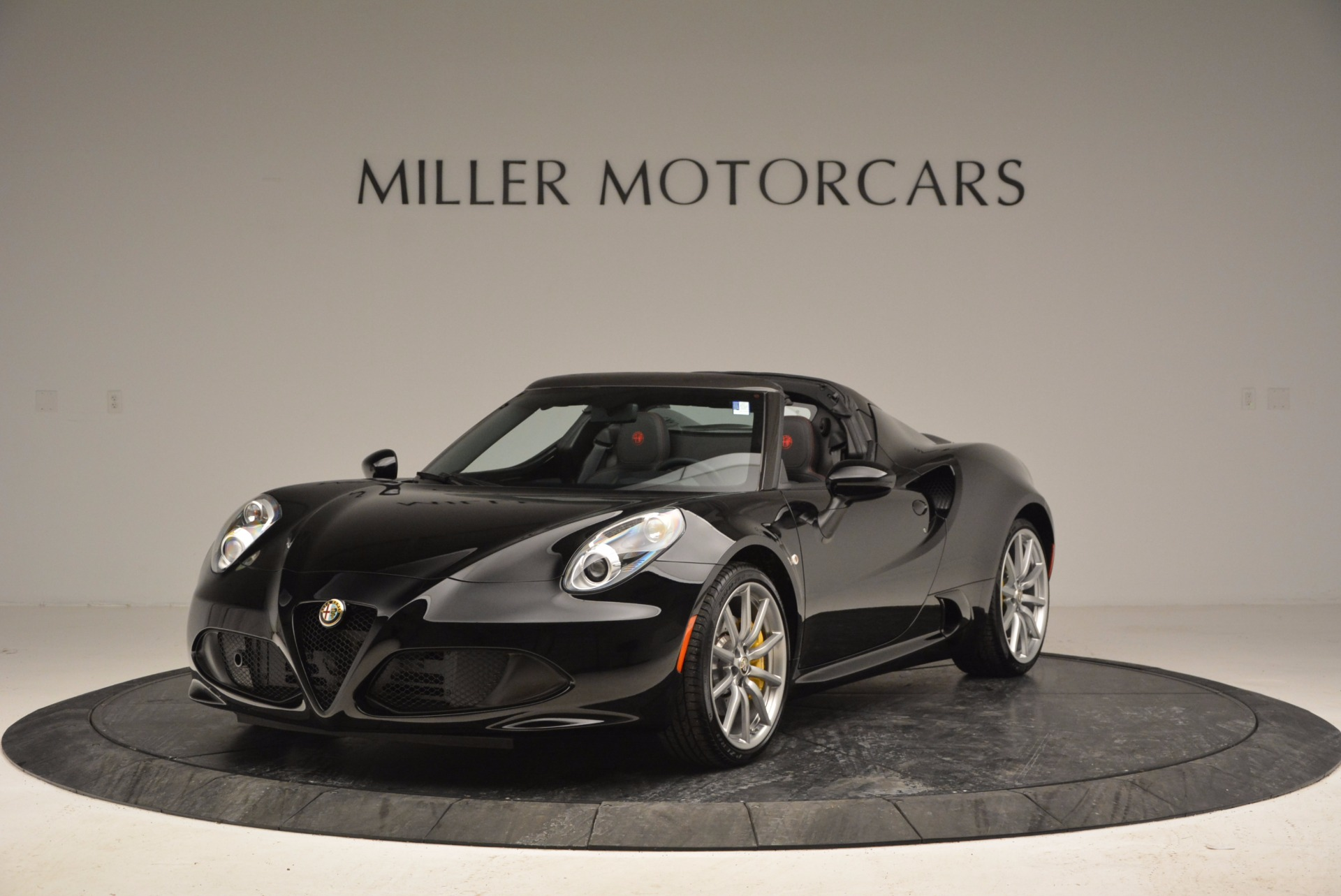 New 2016 Alfa Romeo 4C Spider for sale Sold at Bentley Greenwich in Greenwich CT 06830 1