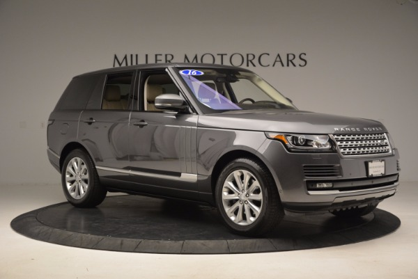 Used 2016 Land Rover Range Rover HSE TD6 for sale Sold at Bentley Greenwich in Greenwich CT 06830 10