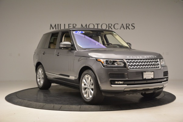 Used 2016 Land Rover Range Rover HSE TD6 for sale Sold at Bentley Greenwich in Greenwich CT 06830 11
