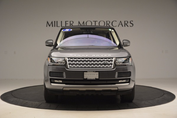 Used 2016 Land Rover Range Rover HSE TD6 for sale Sold at Bentley Greenwich in Greenwich CT 06830 12