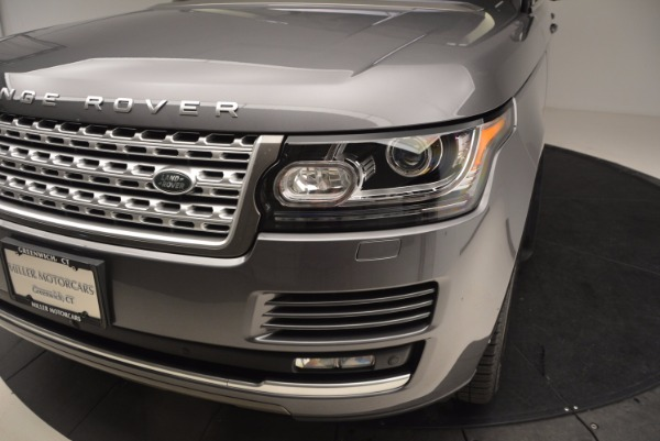 Used 2016 Land Rover Range Rover HSE TD6 for sale Sold at Bentley Greenwich in Greenwich CT 06830 14