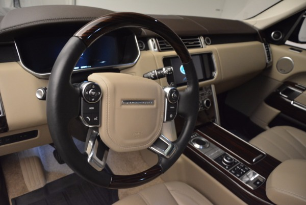 Used 2016 Land Rover Range Rover HSE TD6 for sale Sold at Bentley Greenwich in Greenwich CT 06830 19