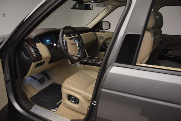Used 2016 Land Rover Range Rover HSE TD6 for sale Sold at Bentley Greenwich in Greenwich CT 06830 21