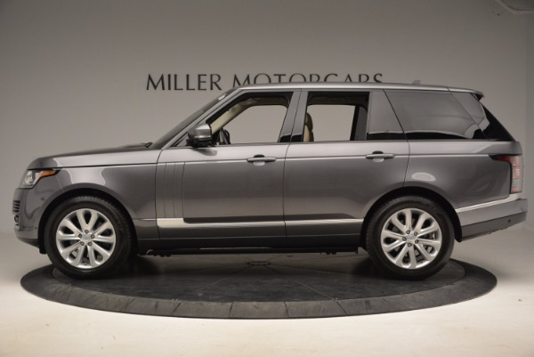 Used 2016 Land Rover Range Rover HSE TD6 for sale Sold at Bentley Greenwich in Greenwich CT 06830 3