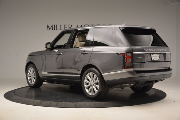 Used 2016 Land Rover Range Rover HSE TD6 for sale Sold at Bentley Greenwich in Greenwich CT 06830 4