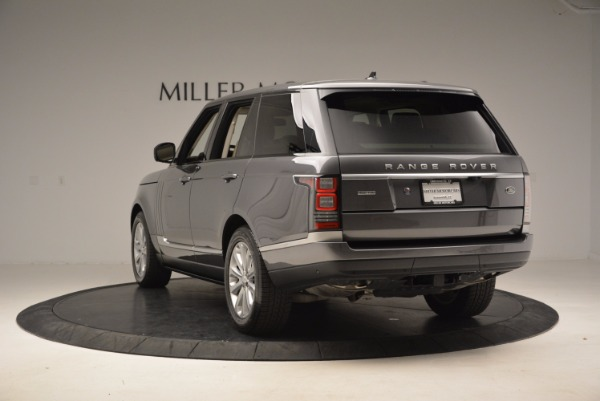 Used 2016 Land Rover Range Rover HSE TD6 for sale Sold at Bentley Greenwich in Greenwich CT 06830 5