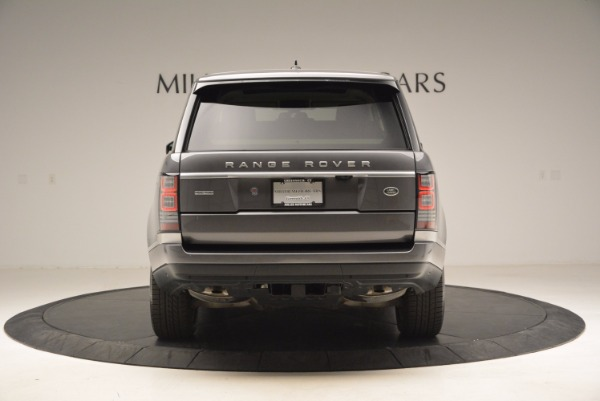Used 2016 Land Rover Range Rover HSE TD6 for sale Sold at Bentley Greenwich in Greenwich CT 06830 6