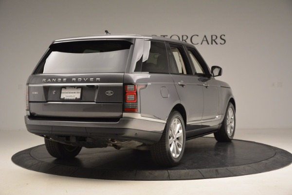 Used 2016 Land Rover Range Rover HSE TD6 for sale Sold at Bentley Greenwich in Greenwich CT 06830 7