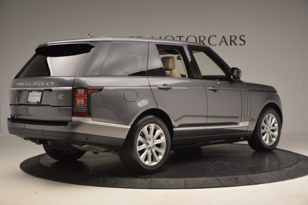 Used 2016 Land Rover Range Rover HSE TD6 for sale Sold at Bentley Greenwich in Greenwich CT 06830 8