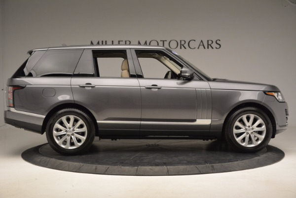 Used 2016 Land Rover Range Rover HSE TD6 for sale Sold at Bentley Greenwich in Greenwich CT 06830 9