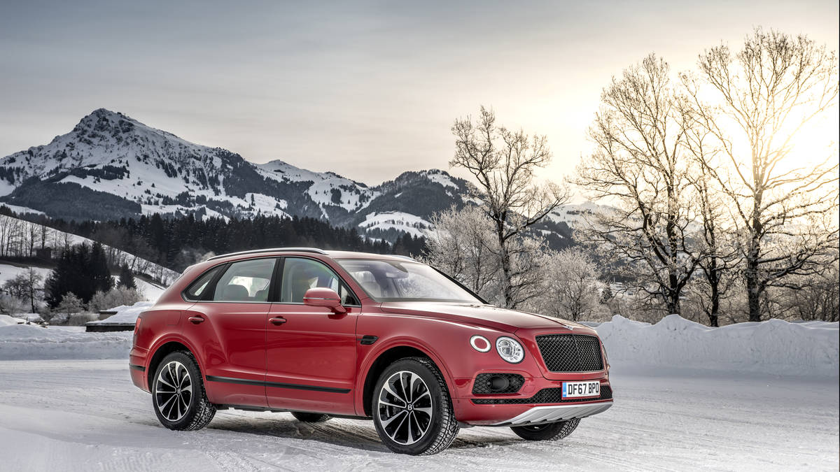 Bentley Bentayga V8 Exterior