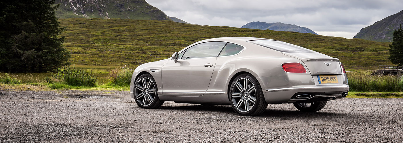 bentley continental gt video