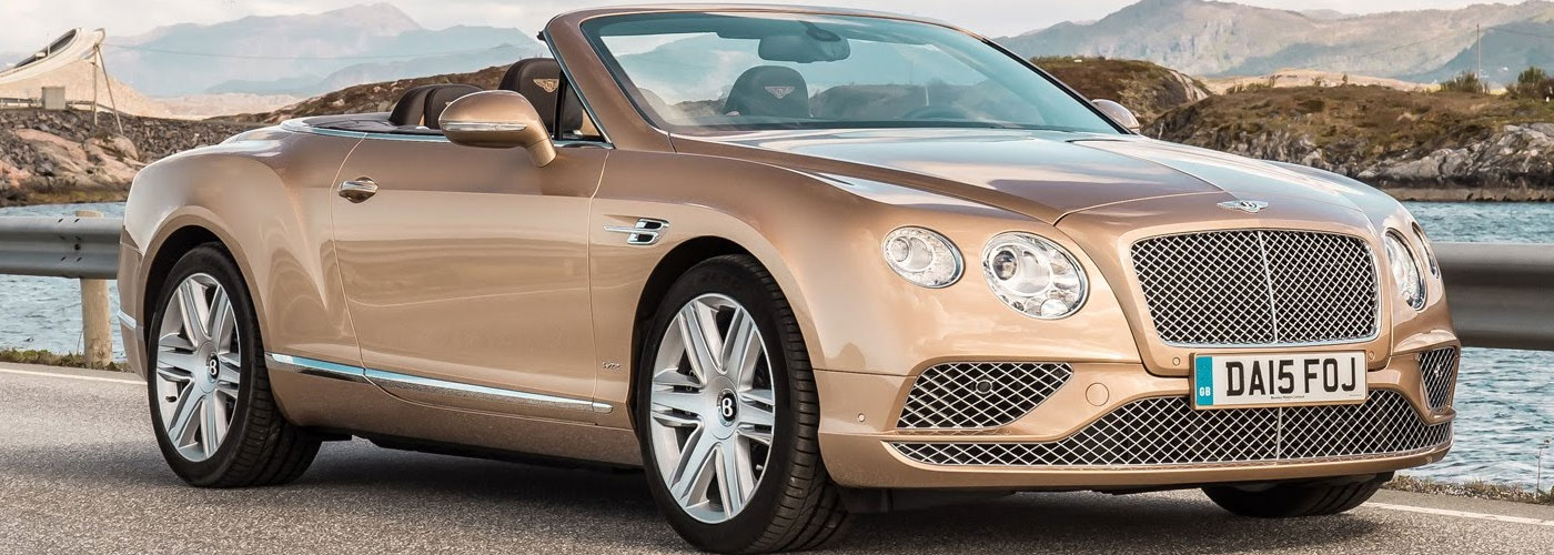 Bentley Continent GT Convertible Interior Video