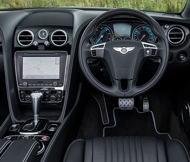 Bentley Continent GT V8 S Interior