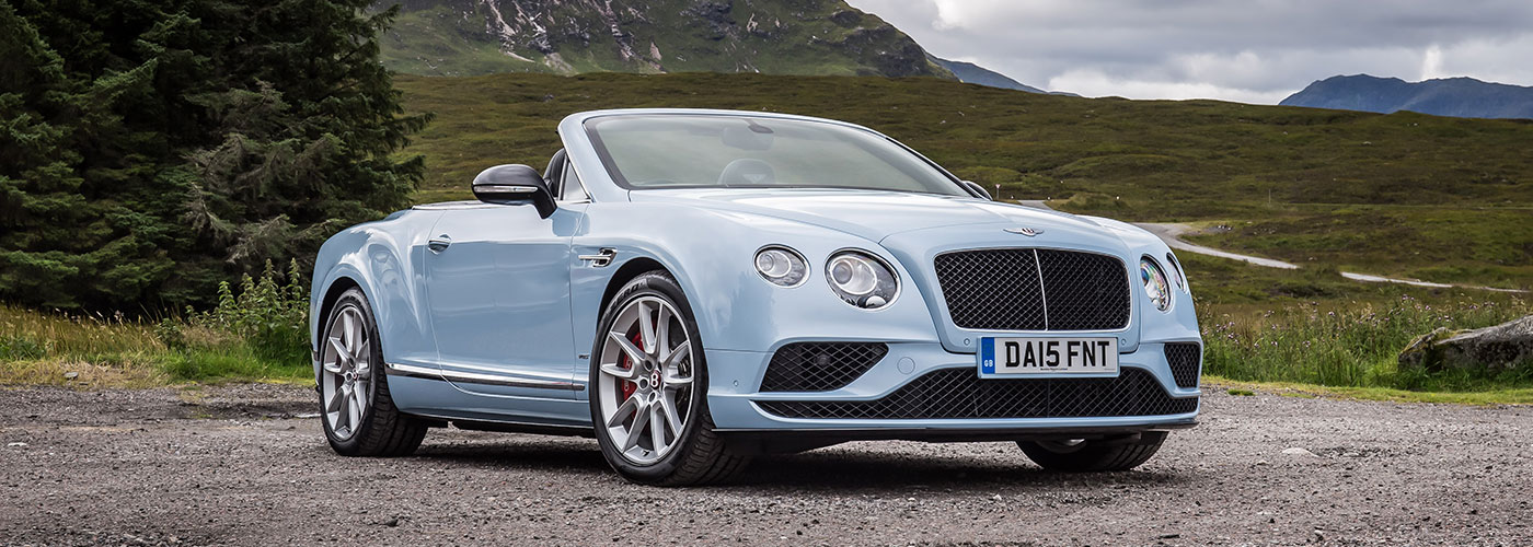 Bentley Continent GT V8 S Convertible Video